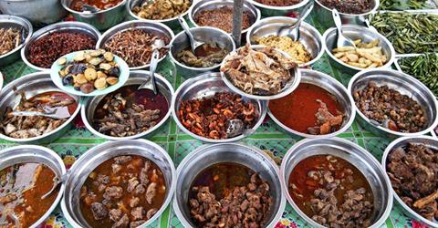 Essen in Burma